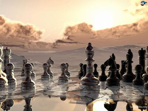 Chess is a game best played cold..?