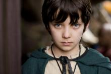 A photo of Mordred from the television series Merlin.  Mordred, like the young Brightwood boy, is a powerful and feared druid boy.